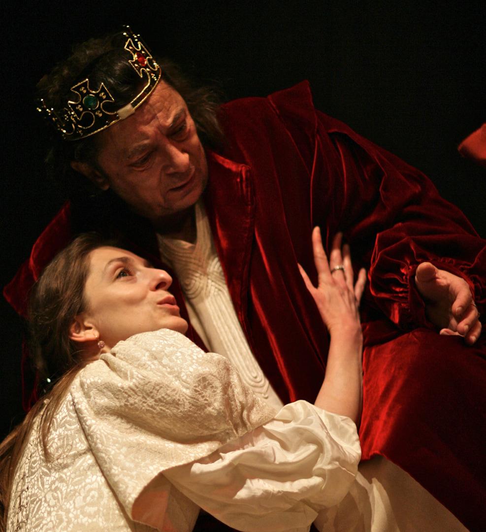 Le Roi Lear de William Shakespeare Miguel Tosto, 2012