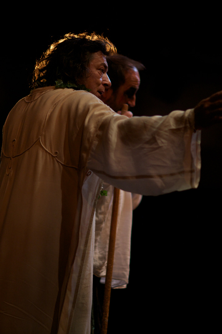 Le Roi Lear de William Shakespeare Miguel Tosto, 2012