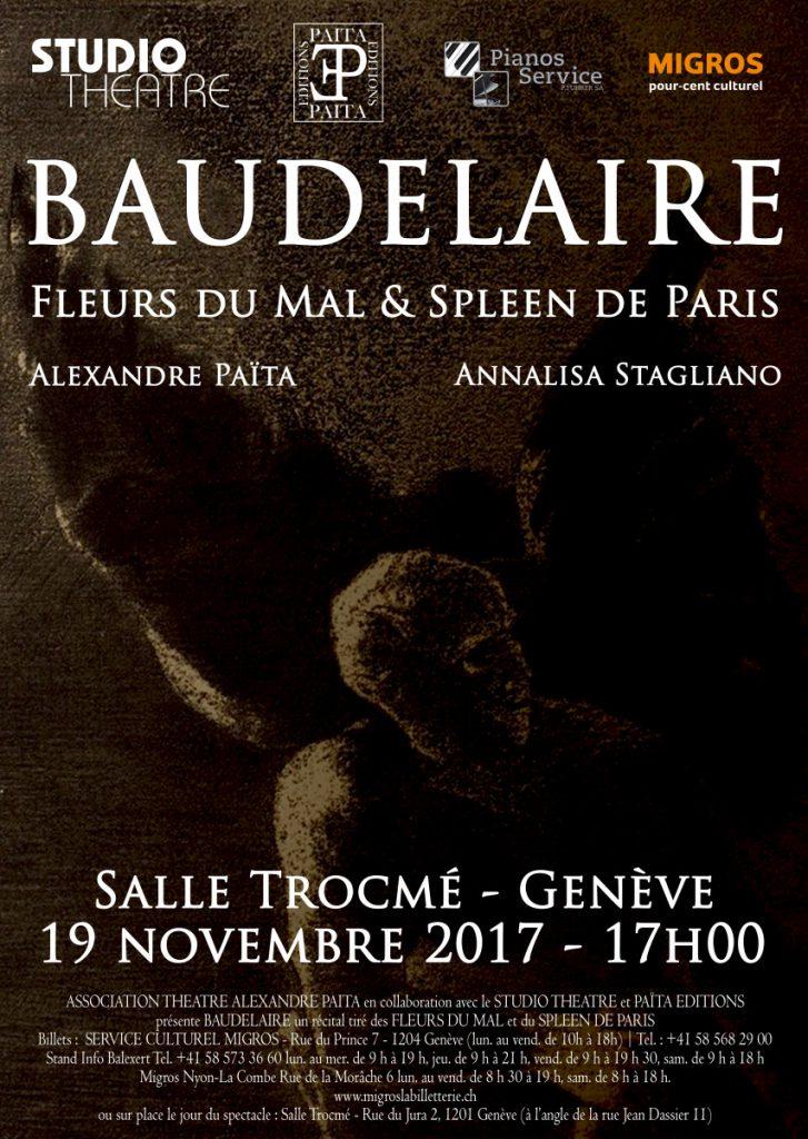 Récital Baudelaire