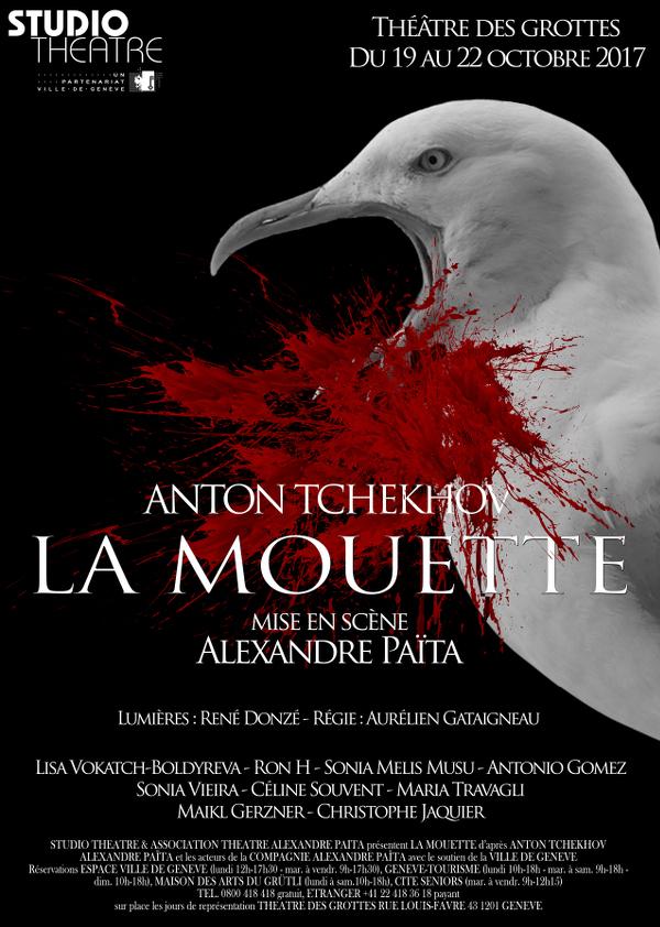 La Mouette d'Anton Tchekhov