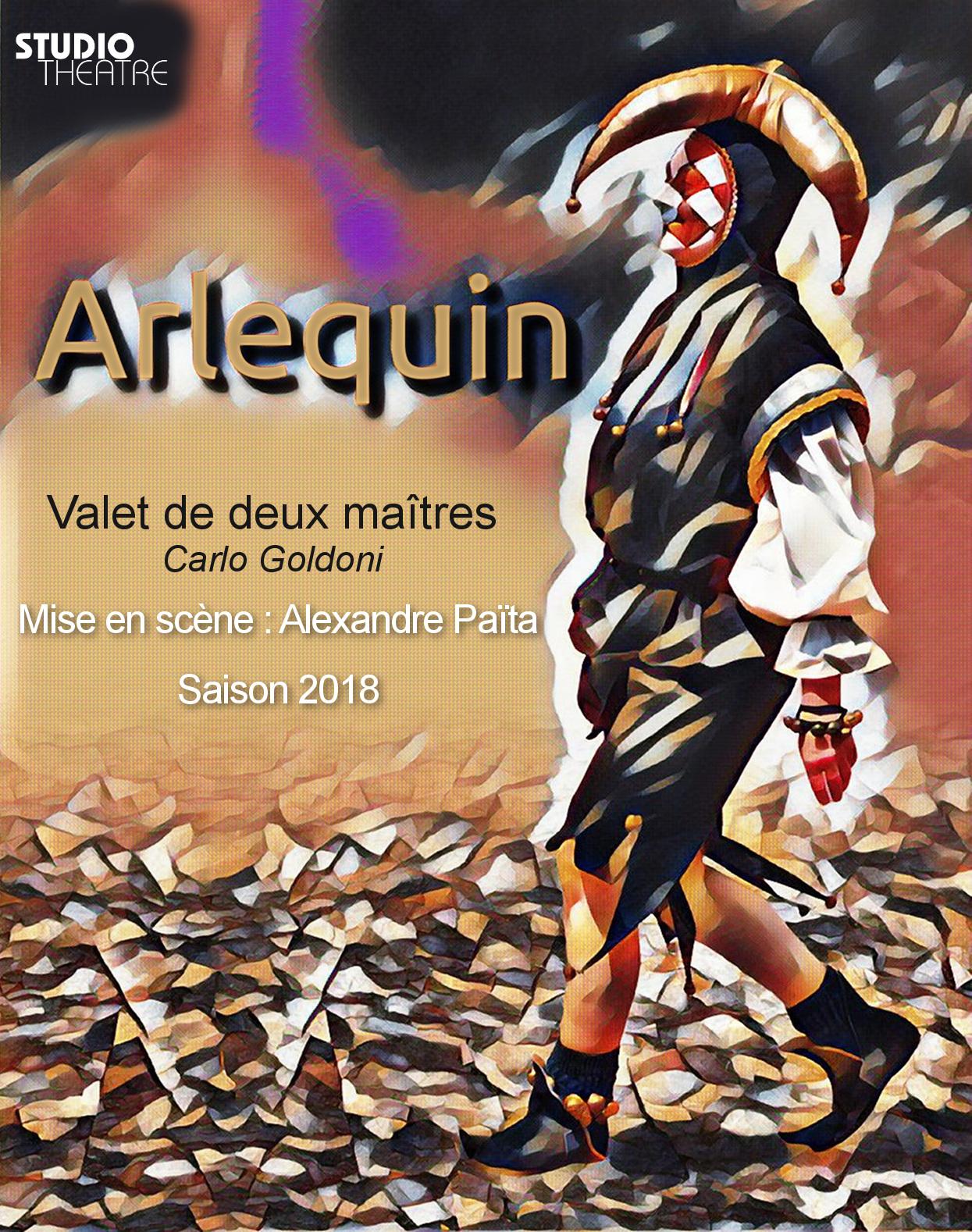 Affiche-Arlequin-StudioTheatre2018