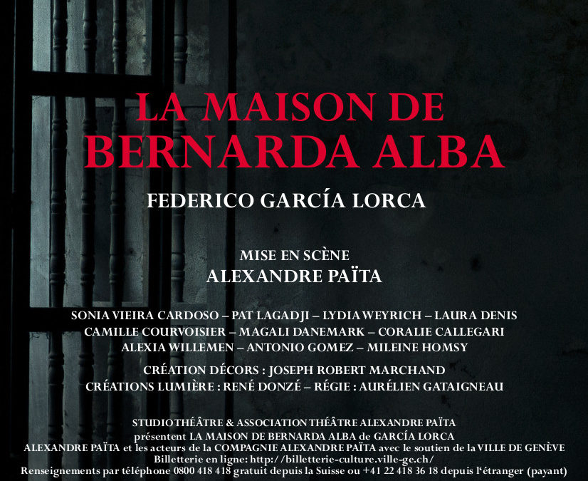 La Maison de Bernarda Alba   García Lorca